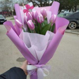 Тюльпаны доставка в Евпатории